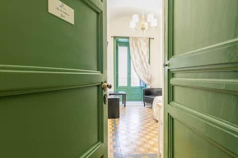 Gea, single room in Palazzo Villelmi