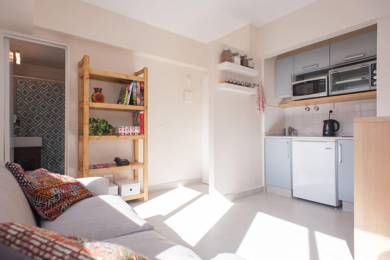New Beautiful Sunny Quiet Studio Apartments For Rent In  # Muebles Leblon Cordoba