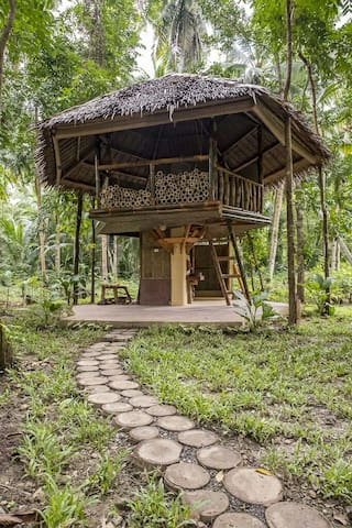Bamboo cottage by the river - Loboc, Central Visayas, PH