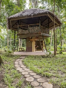 Bamboo cottage by the river - Loboc, Central Visayas, PH - Kabin