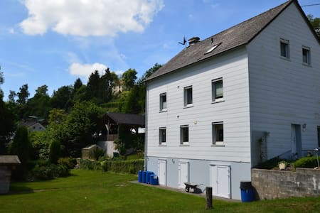 Apartment in Waxweiler with Sauna, Terrace, Garden, BBQ