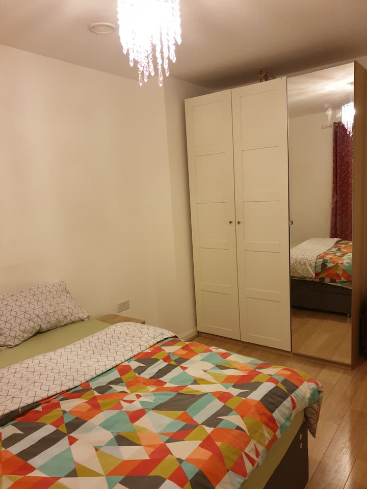 Family home with a room to have a good night rest