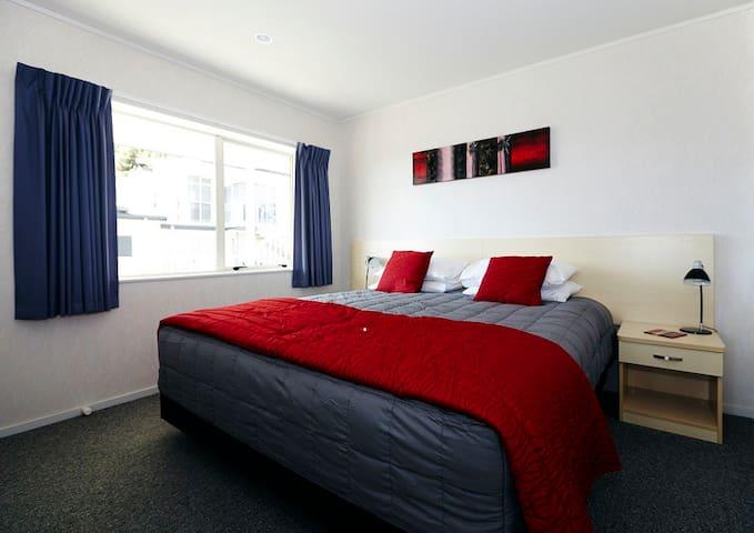 Bedroom set up with Super King bed