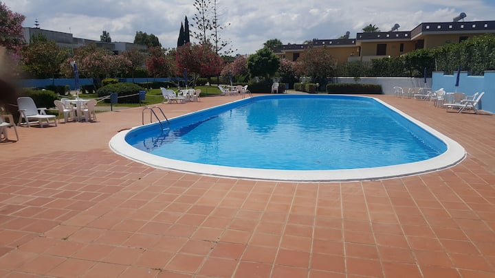 Holiday apartment with shared pool