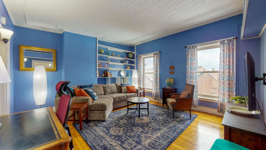 The Alfred - Comfortable - Spacious- Downtown Troy
