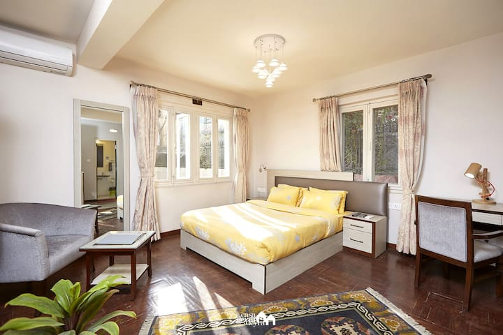 Bright & Sunny 1BR exclusive Lazimpat garden home