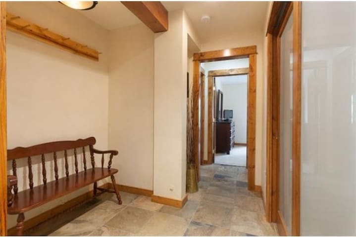 Downstairs Entrance - has washer & dryer.