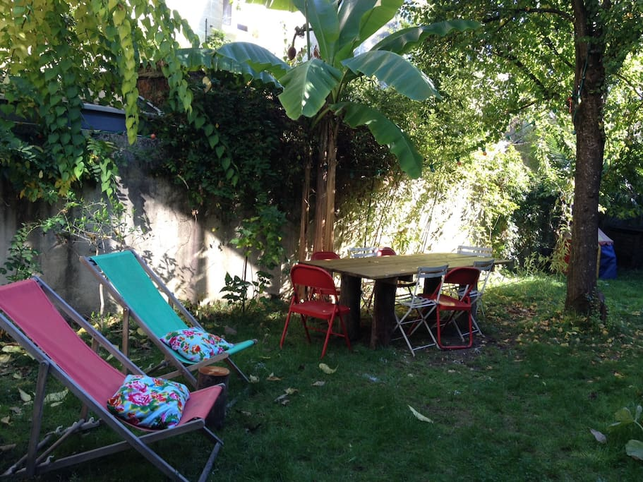 Charmant appartement sur jardin plein centre for Location appartement jardin bordeaux