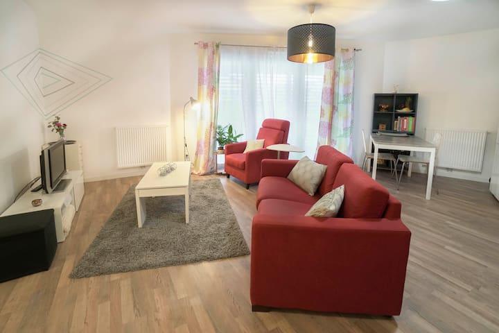 Appartement chaleureux à 300m de Bordeaux!