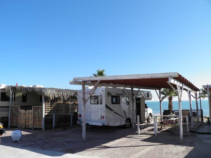 #9 Beach RV Space Victors RV Park San Felipe B.C.