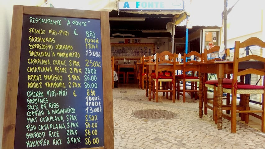 Restaurant a Fonte at 50 meters