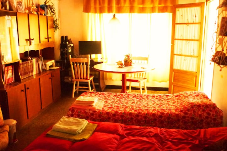 Big room near bus station (private bathroom) - Rosario - Casa