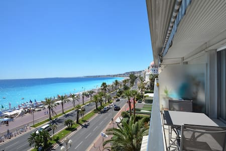 28 prom des anglais-One room 43m² terrace sea view