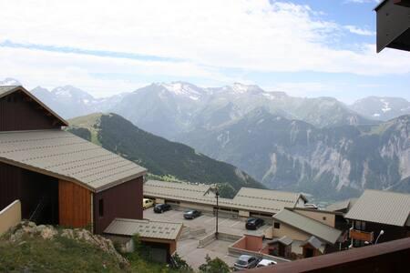 Stunning views from Alpe D'Huez Studio