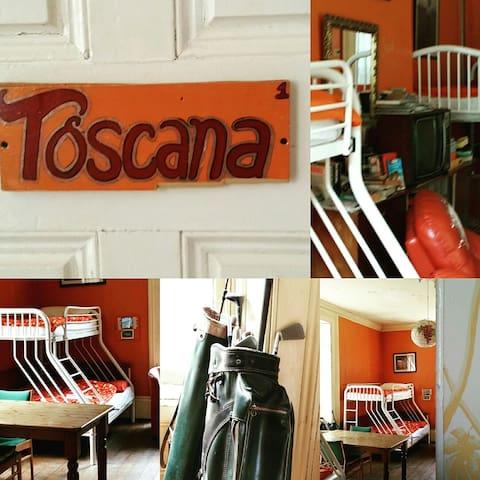 "our dorm ""The Toscana"""