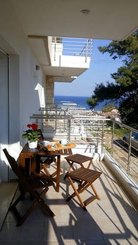 Modern maisonette with great view - Nea Poteidaia