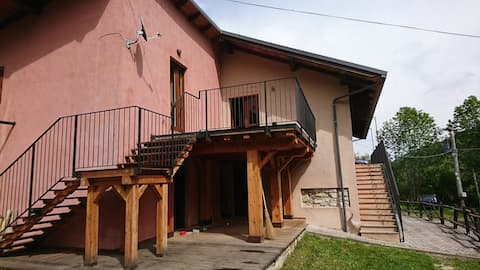 Chalet Morier with terrace
