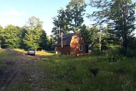212 acres-Adirondack Wilderness Borders State Land - Cold Brook - 小木屋