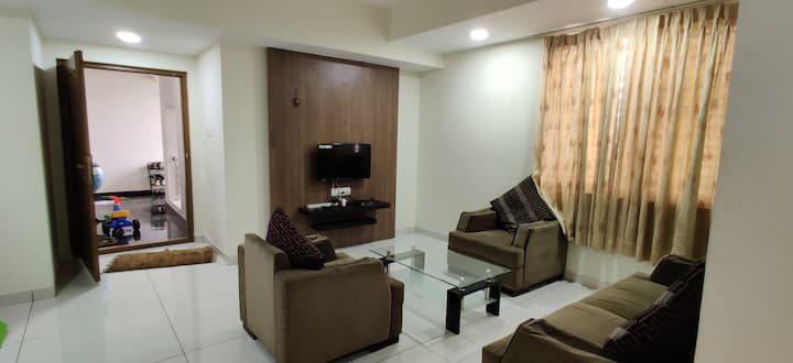 Cozy Apartment with Kitchen @ Mysore central