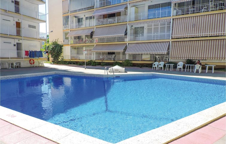 Holiday apartment with 2 bedrooms on 36m² in Salou