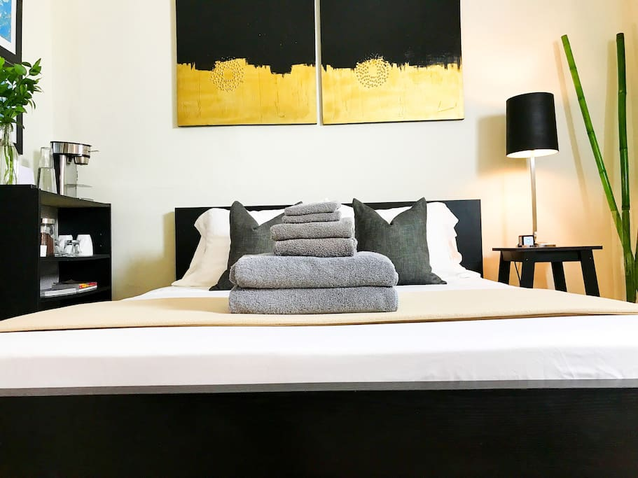 """YOUR BEDROOM """"In years of experience across bed and breakfast and private accommodations I've rarely had such a great host."""" -Raffaello"""