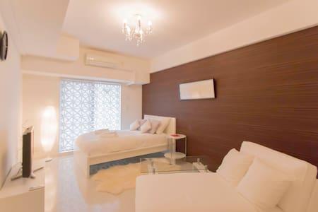 Cozy Designer's Room Umeda SkyTower - Wohnung