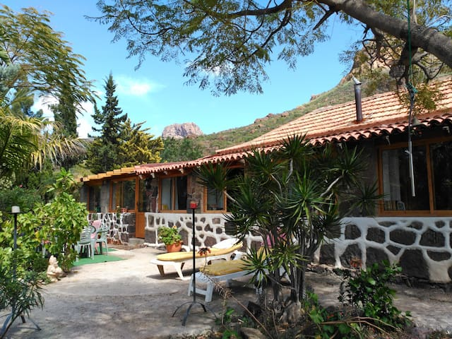 """Casa Canaria de Campo """"Pequeño Oasis"""". - San Bartolomé de Tirajana - House"""