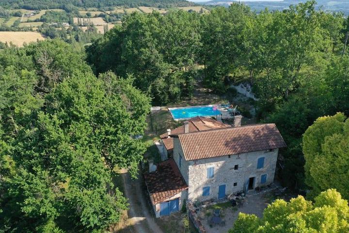 House with pool Lot et Garonne