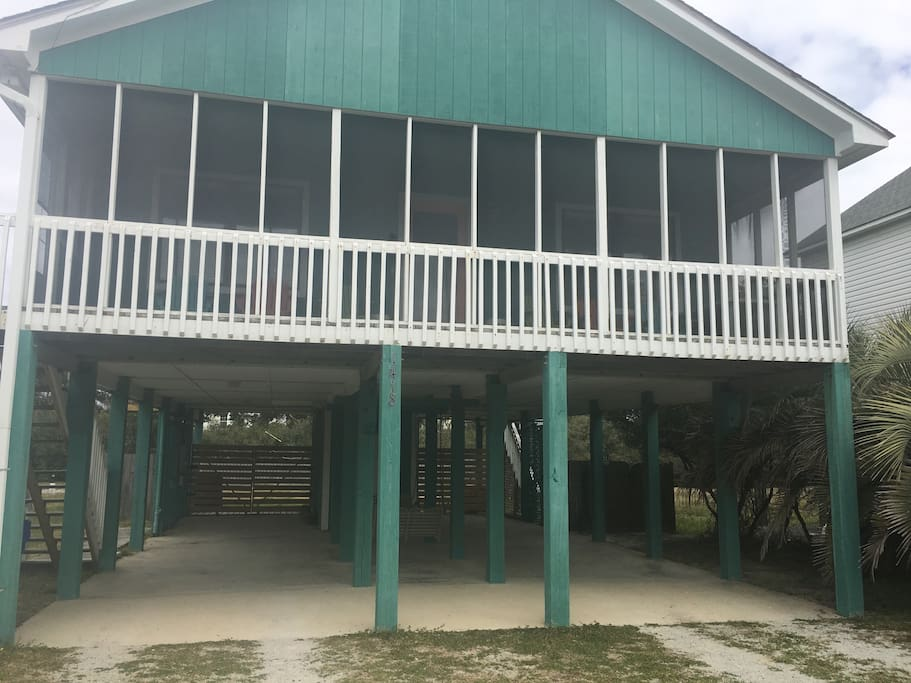 Two Bedroom Beach House For Rent In Oak Island