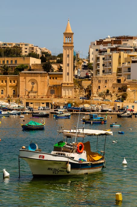 Marsaskala Bay 2 minutes to promenade + restaurants