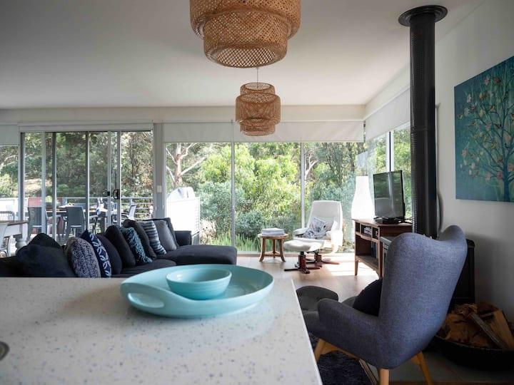 Stunning architect designed beach house