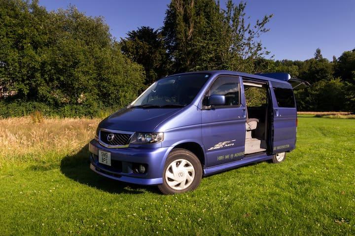 Fun Mazda Bongo Camper Van Adventure in Midlothian - Dalkeith - Autocaravana
