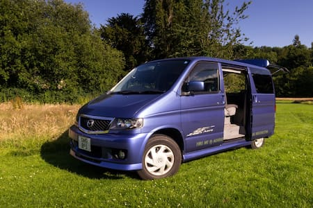 Fun Mazda Bongo Camper Van Adventure in Midlothian - Dalkeith - Trailer