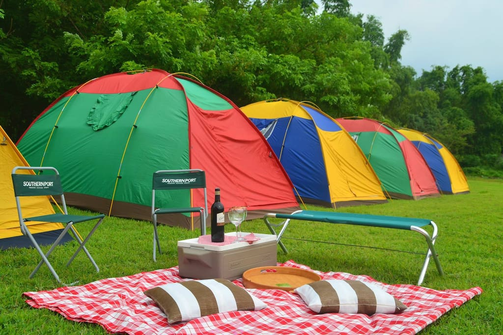 You can also go Glamping here.