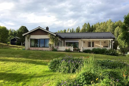 House with beautiful view in Höga Kusten - Kramfors Ö - วิลล่า