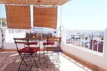 Desde nuestra terraza puedes ver toda la ciudad  de Tanger