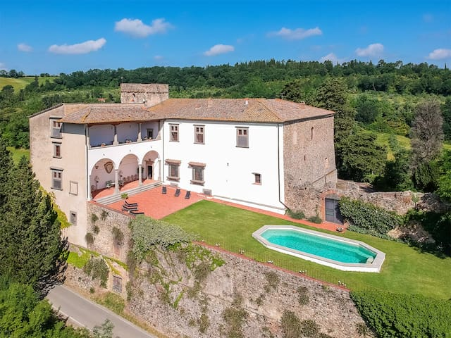 Medieval Castle in Chianti near Florence