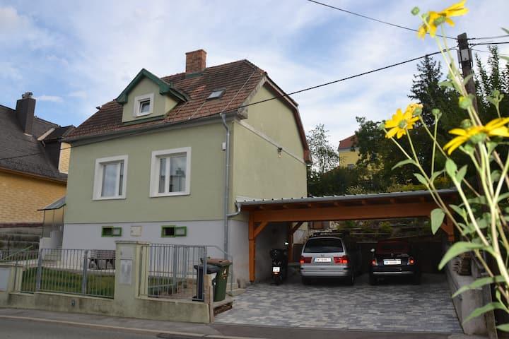 Sissis Gartenhaus: Abstand-Grünruhelage-Carport