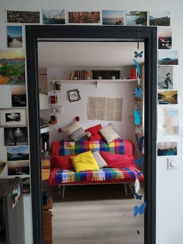 Chaleureux appartement dans Paris 18e