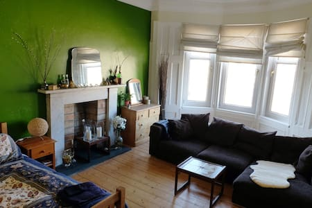 Big charming airy West End flat