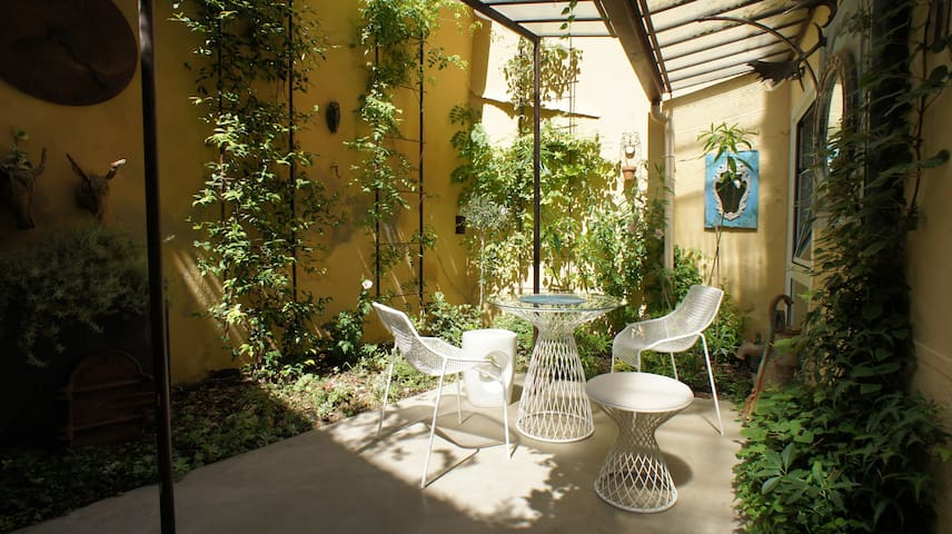 The garden courtyard - Historic center Aix-en-Pce - Aix-en-Provence - Appartement