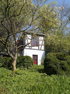 summer house in big garden - 奧斯納布呂克(Osnabrück) - 樹屋