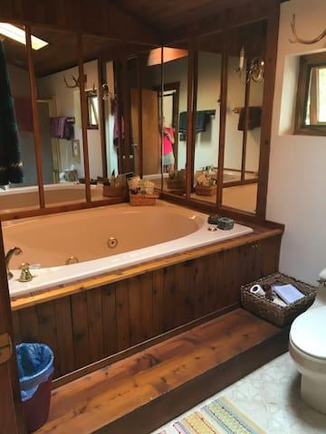 Master Bath Whirlpool & Shower