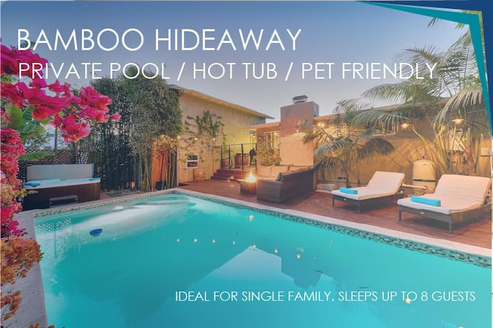 25% OFF DEC 1-18TH!-  Resort living w/private pool & SPA- Walk to beach