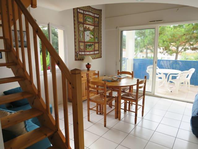 Joli appartement à 100 m de la mer - Talmont-Saint-Hilaire - Appartement