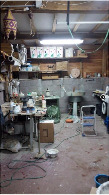 pottery room..laboratorio