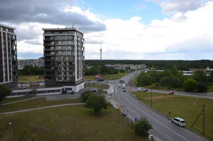 Апартаменты с видом на телебашню