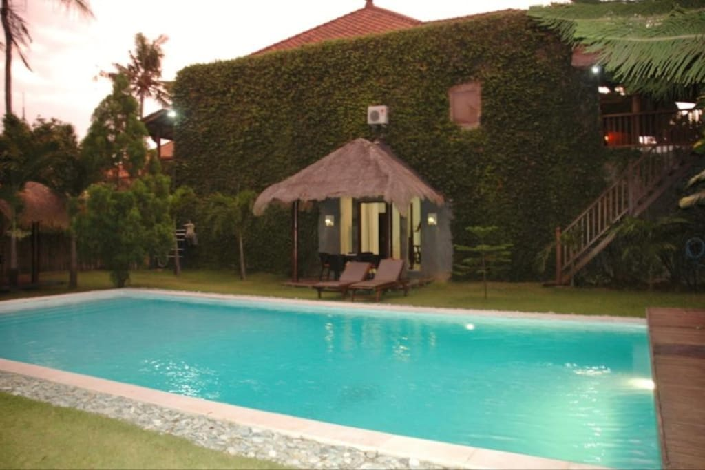 Extra Large Outdoor Private swimming Pool