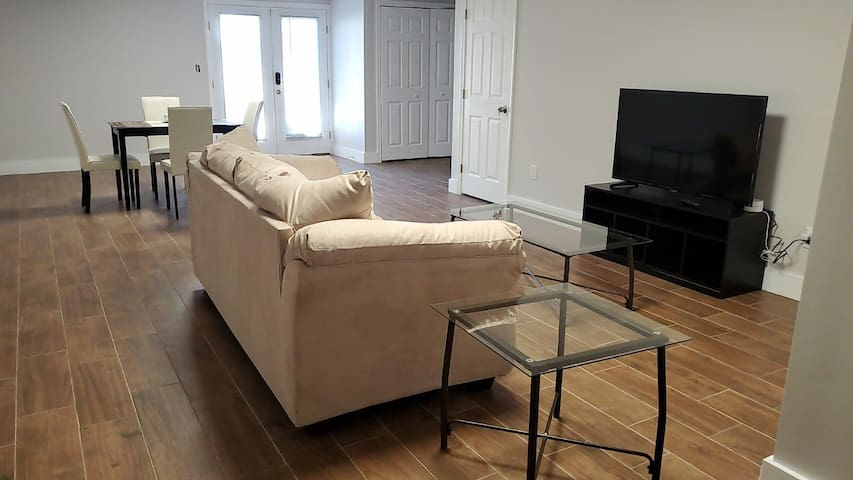 Newly and fully furnished basement apartment 2020