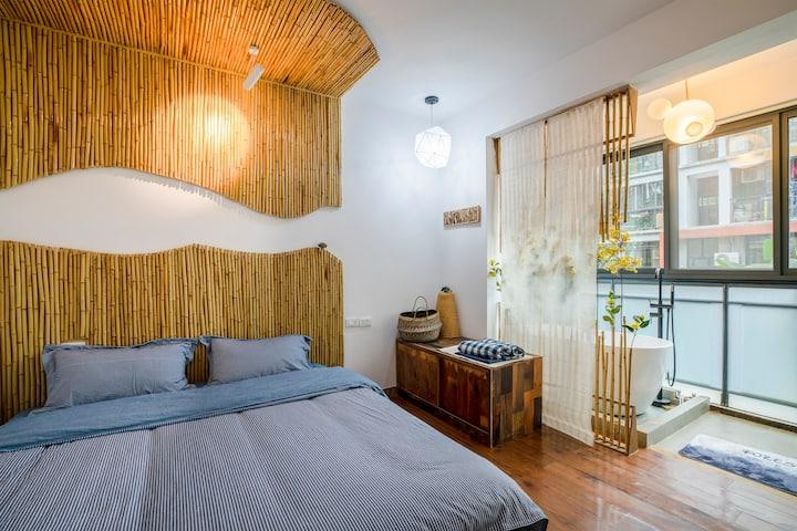 呼吸空间 - 立夏,彰泰城休闲两居室
